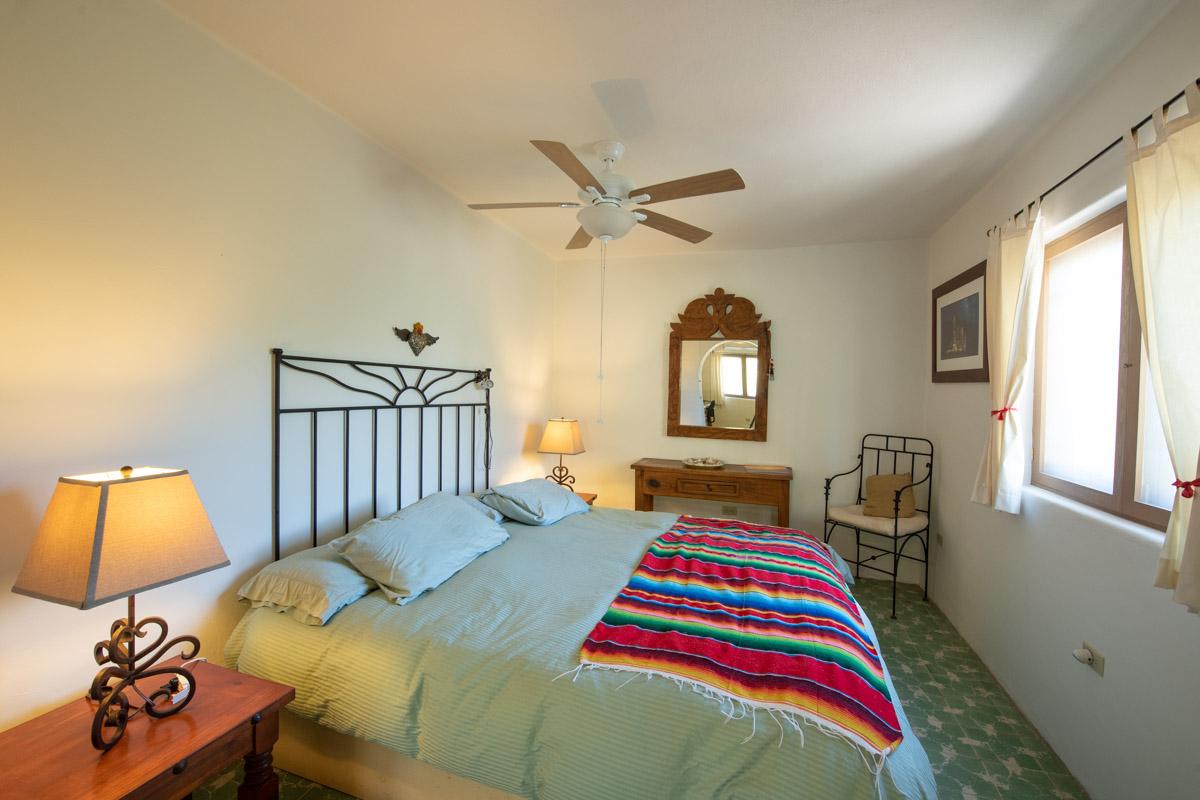 Beautifully restored four bedroom adobe home upstairs bedroom East