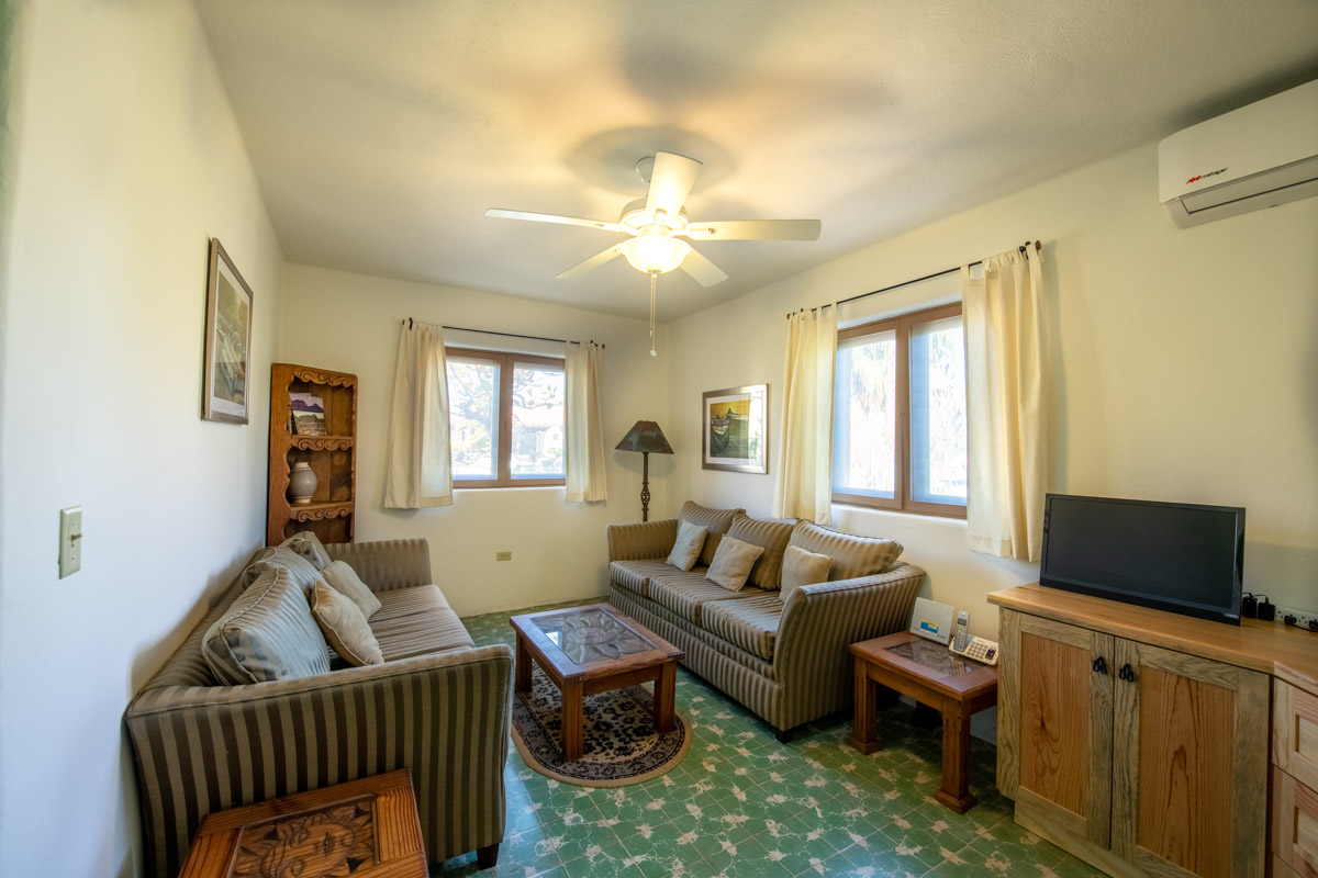 Beautifully restored four bedroom adobe home upstairs den:bed