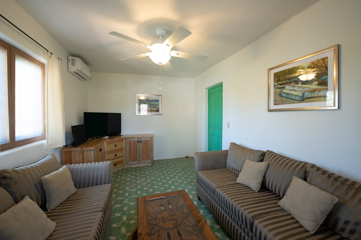 Beautifully restored four bedroom adobe home upstairs den:bedroom