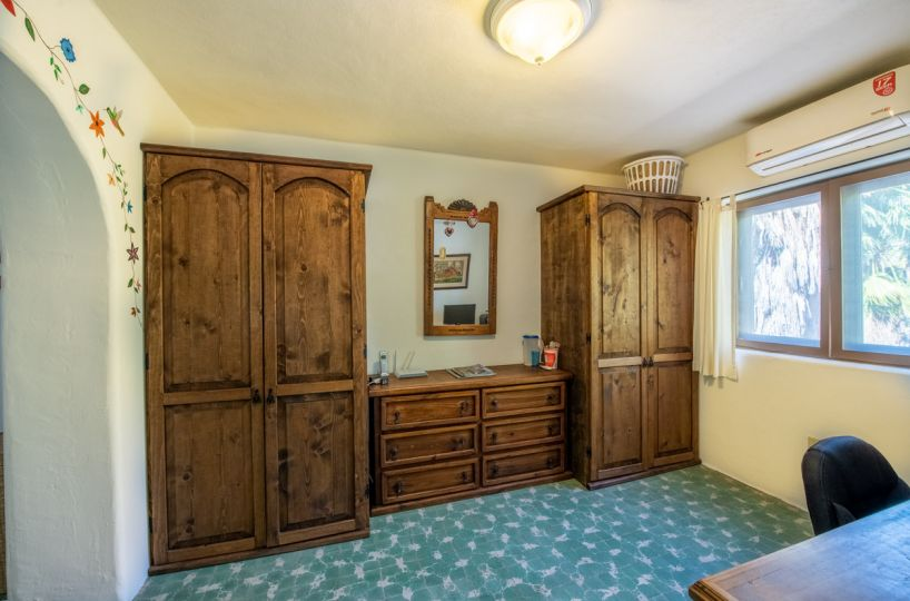Beautifully restored four bedroom adobe home upstairs office
