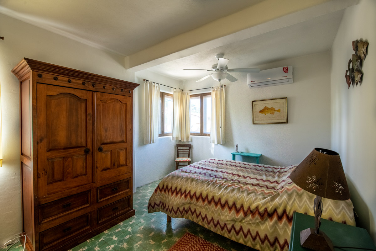 Beautifully restored four bedroom adobe home upstairs southwest bedroom
