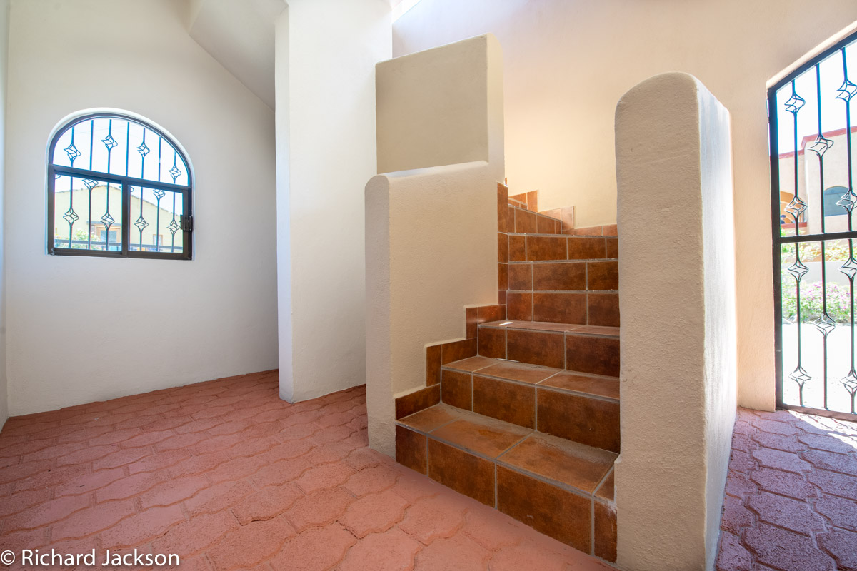 2 Bed 2 Bath 2 Blocks Away from the Beach in Loreto: Stairs