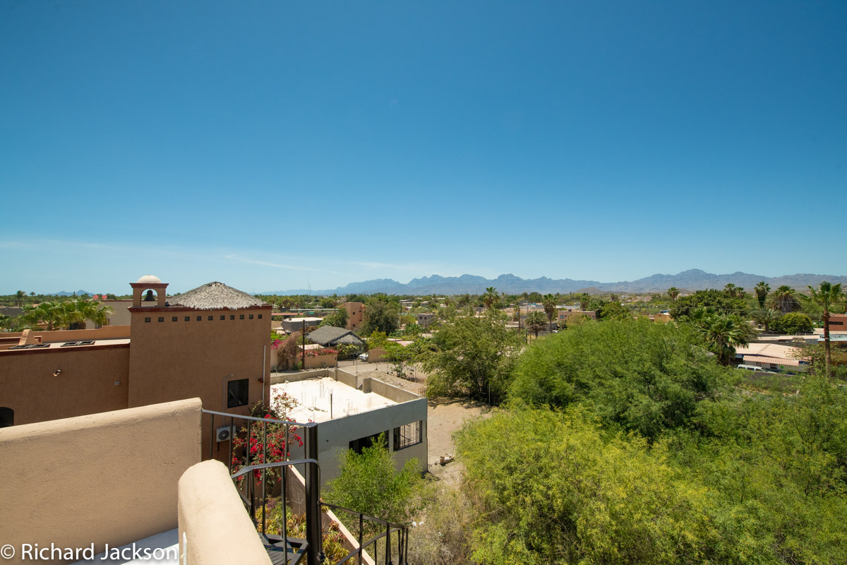 2 Bed 2 Bath 2 Blocks Away from the Beach in Loreto: View looking South