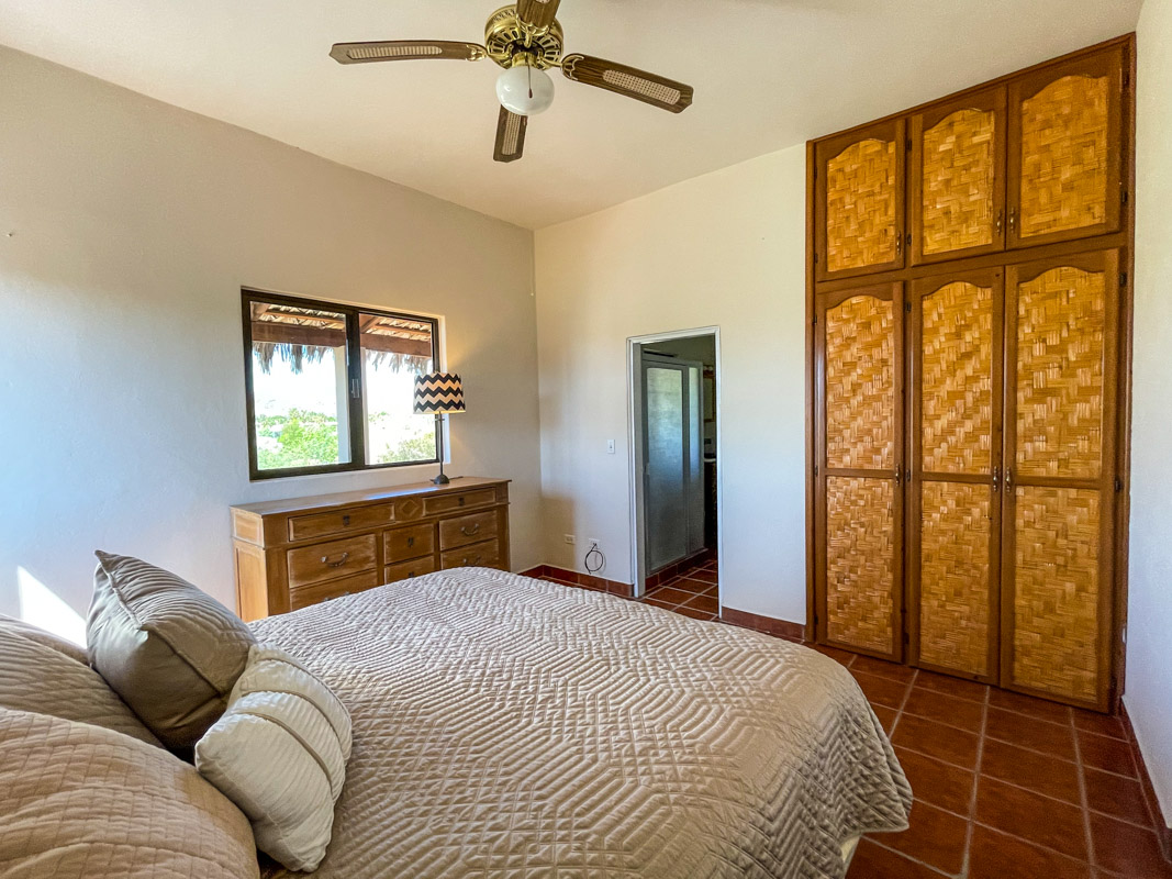 2 bed/2bath casa in private community: upstairs bedroom.