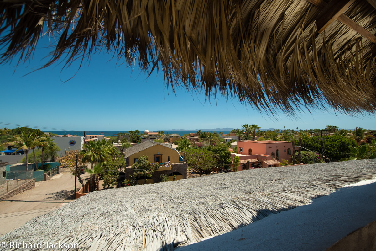 2 Bed 2 Bath 2 Blocks Away from the Beach in Loreto: View looking East A