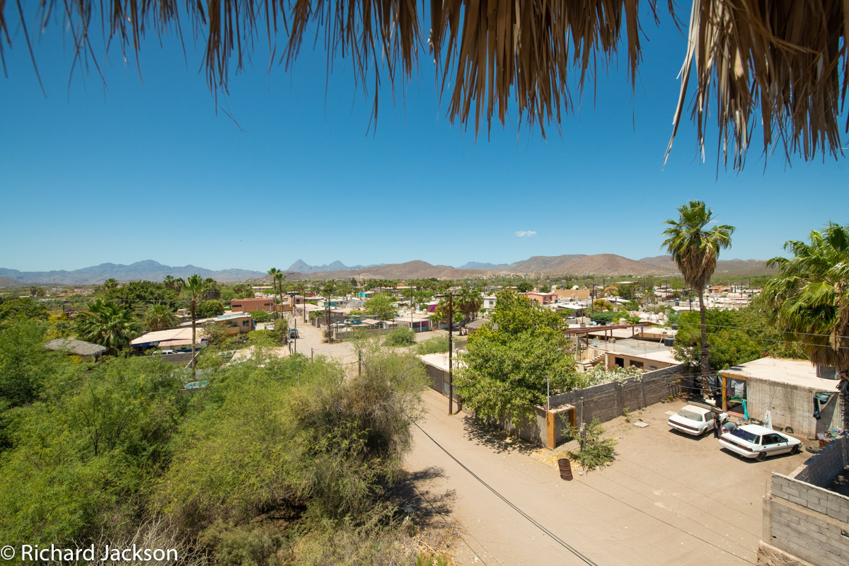 2 Bed 2 Bath 2 Blocks Away from the Beach in Loreto: view looking East