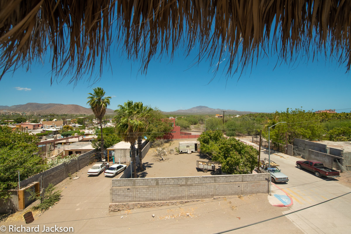2 Bed 2 Bath 2 Blocks Away from the Beach in Loreto: view looking North