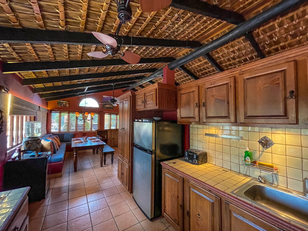 2 bed/2bath casa in private community: looking into living room.