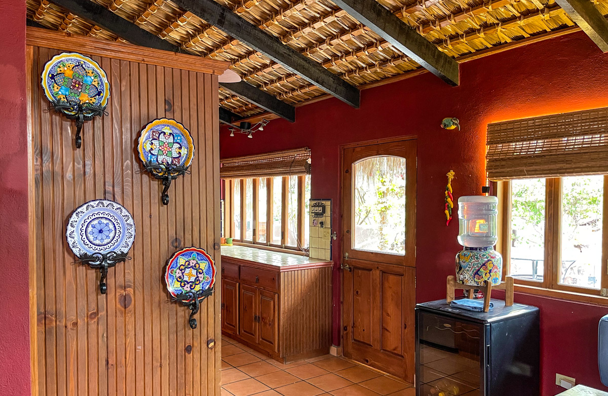 2 bed/2bath casa in private community: View from living dining into kitchen.