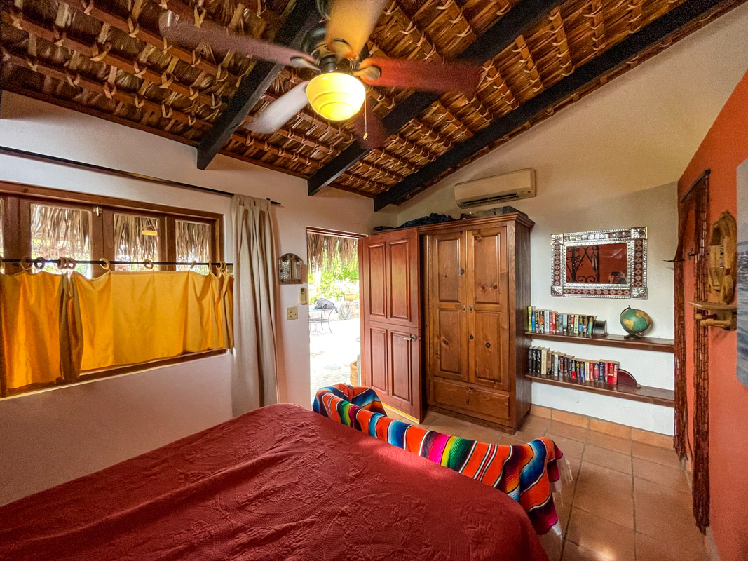 2 bed/2bath casa in private community: guest room with private.