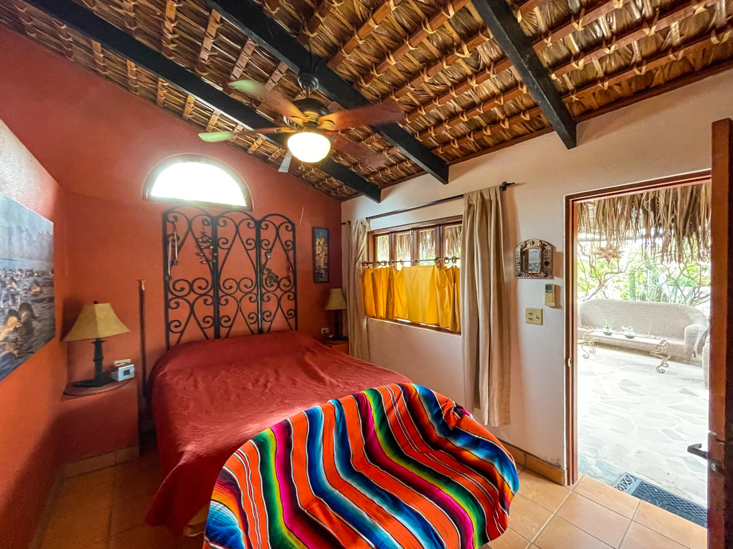 2 bed/2bath casa in private community: guest room.